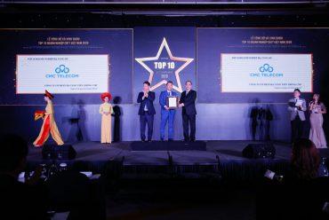Hai giải thưởng chuyển đổi số gọi tên CMC Telecom